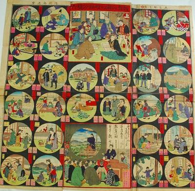教育必用幻燈振分双六(1889)
