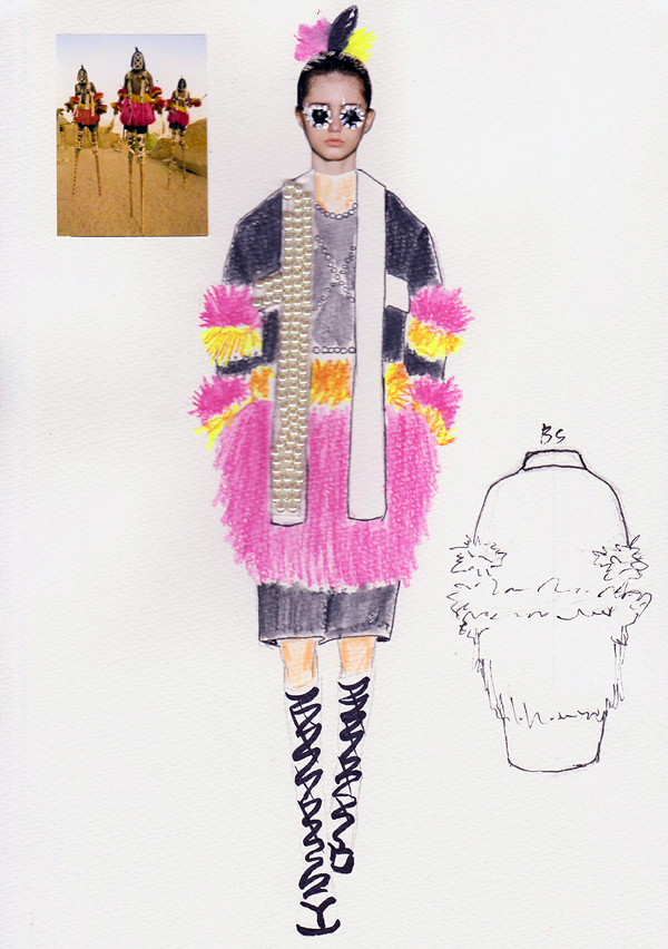 『民族の文化』LEE YUL HUN/文化服装学院