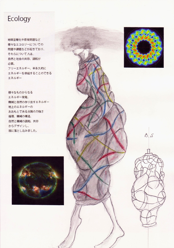 『Ecology』寺村隆平/名古屋ファッション専門学校