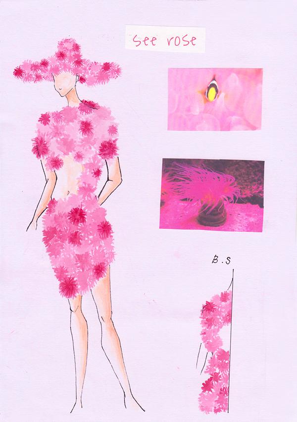 『Sea rose』高橋愛蓮/国際トータルファッション専門学校