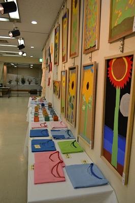 新宿区生涯学習フェスティバル 絵画・書・写真・手工芸・陶芸・いけ花 作品展示