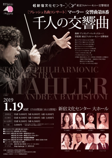 マーラー交響曲第8番「千人の交響曲」