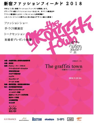 新宿ファッションフィールド2018 ~若きデザイナーたちのファッションショー