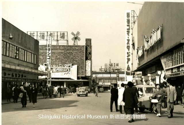 新宿歴史博物館 データベース 写真で見る新宿 | 歌舞伎町(コマ劇場 ...