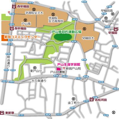 戸山多目的運動広場