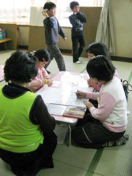 折り紙飛行機教室