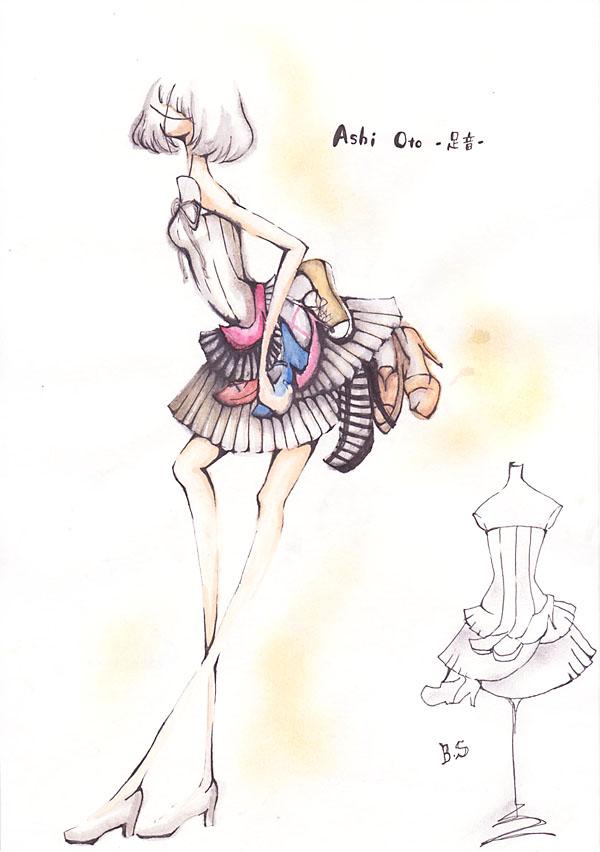 『Ashi Oto』佐藤愛/国際トータルファッション専門学校
