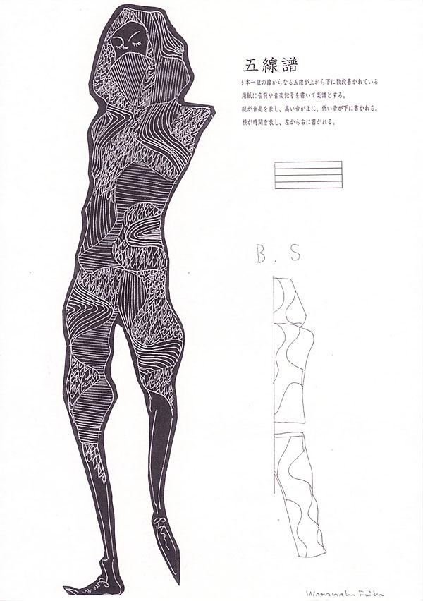 『五線譜』渡辺えりか/国際トータルファッション専門学校