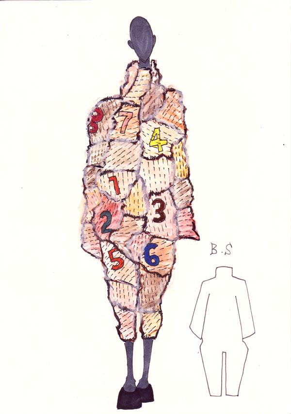 『Antique Cloths』 氏家優基/国際ビューティ・ファッション専門学校
