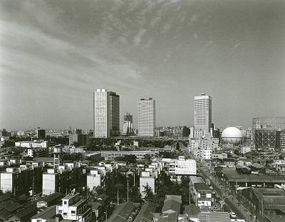 西新宿定点撮影 1975年 (c)PAOS