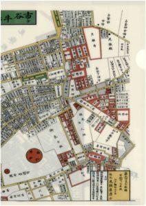 市ヶ谷牛込絵図