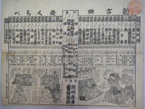 『新古興廃くらべ』明治15年(1882)