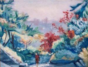 西原比呂志「下落合風景」